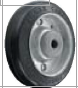 HAMMER CASTER 精密脚轮   金属板型425S R 125,150mm橡胶车轮140-220daN