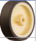 HAMMER CASTER 精密脚轮  角金属板型439E-UR 65-125mm尿烷车 30-60daN