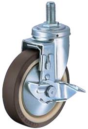 HAMMER CASTER 精密脚轮  螺纹旋入型413SA-UB 100-150mm带止动器 50-160daN