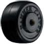 HAMMER CASTER 精密脚轮  角金属板型427S RD 50mm橡胶车 20-60daN