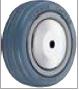 HAMMER CASTER 精密脚轮  金属板型434MB RB  100-150mm橡胶车胎50-100daN