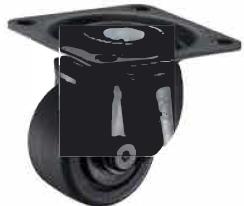 HAMMER CASTER 精密脚轮   角金属板型540H-NRB 65,75mm 400daN