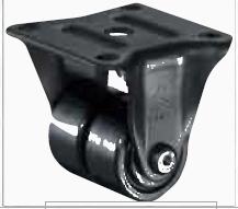 HAMMER CASTER 精密脚轮   金属板型550R-BN2  38,50mm 120-600daN