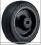 HAMMER CASTER 精密脚轮  金属板型434SOS RU 100-150mm橡胶车轮50-220daN