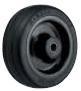 HAMMER CASTER 精密脚轮  插入轮毂型434SOS RU 100-150mm橡胶车30-160daN