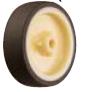 HAMMER CASTER 精密脚轮  插入插头型439E UR 65-125mm尿烷车 25-60daN
