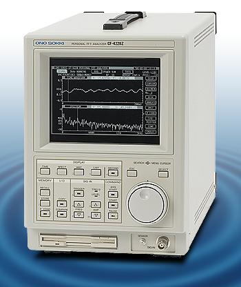 日本小野 ONOSOKKI 单通道FFT分析仪 CF-4210Z ONOSOKKI FFT CF 4210Z