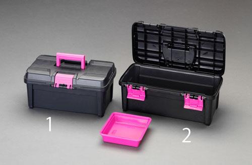 喜一 ESCO EA505KE-1 380x230x180mm工具箱(中皿付) ESCO EA505KE 1 380x230x180mm