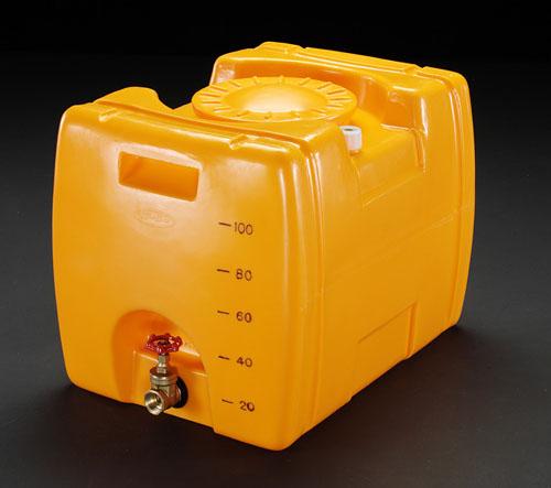 喜一 ESCO EA991AB-1 100Lポリエチレン給水容器(?????付) ESCO EA991AB 1 100L