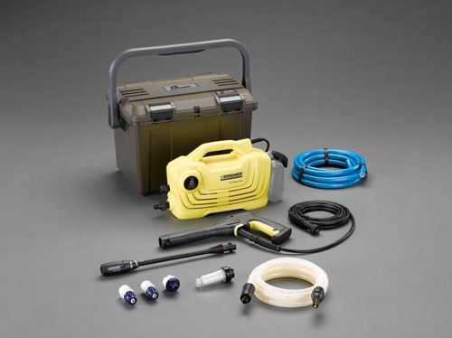 喜一 ESCO EA115KM-100A 高圧洗浄機(吸水???????付) ESCO EA115KM 100A