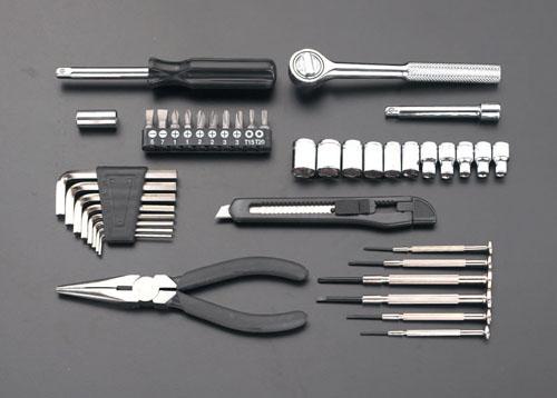 喜一 ESCO EA612SD-2 [42個組]工具セット ESCO EA612SD 2 42
