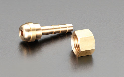 喜一 ESCO EA300-105 5mm溶接ホース用ステム(右ねじ) ESCO EA300 105 5mm