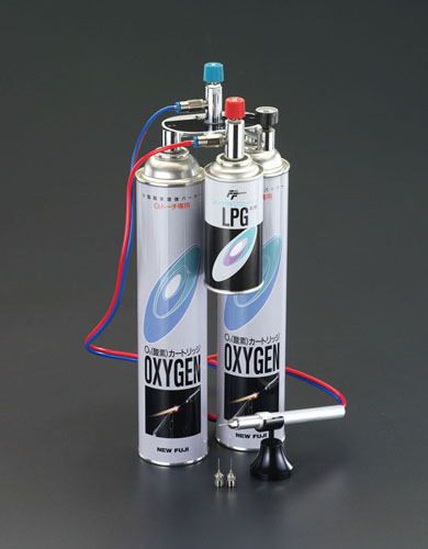 喜一 ESCO EA303FB 3000℃小型酸素溶接バーナーセット ESCO EA303FB 3000