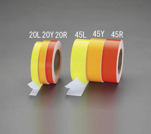 喜一 ESCO EA983GF-20L 20mmx30m蛍光粘着テープ(???) ESCO EA983GF 20L 20mmx30m