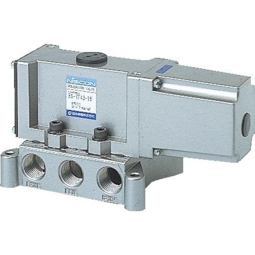 日本精器(株) BN-7F43-15-E200 日本精器 4方向電磁弁15AAC200V7Fシリーズシングル BN 7F43 15 E200