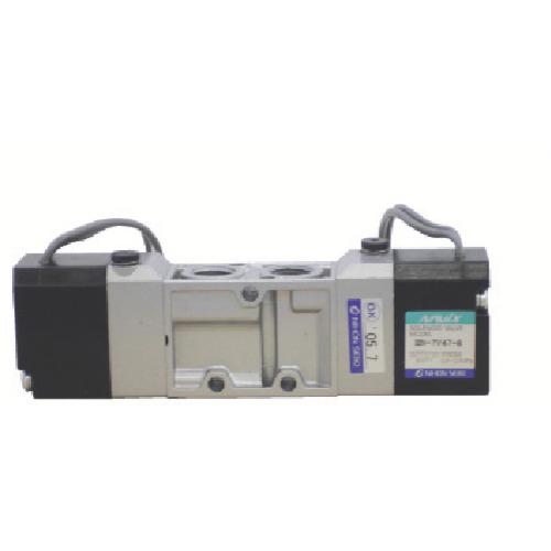 日本精器(株) BN-7V47-8-G-F24 日本精器 4方向電磁弁 8A DC24V グロメット7Vシリーズダブル BN 7V47 8 G F24