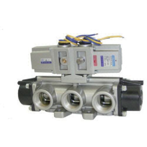 日本精器(株) BN-7M47-20-E-200 日本精器 4方向電磁弁 20A AC200V 7Mシリーズダブル BN 7M47 20 E 200
