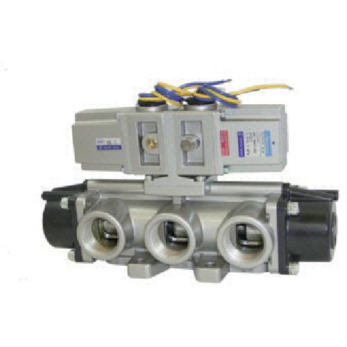 日本精器(株) BN-7M47-20-E-100 日本精器 4方向電磁弁 20A AC100V 7Mシリーズダブル BN 7M47 20 E 100