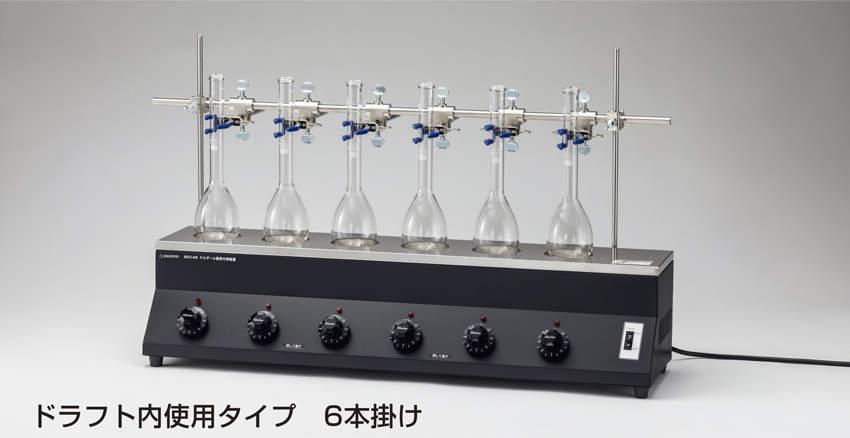 三商 sansyo 三商 ケルダール窒素分解装置 SKN-6RD 電気式6本掛け本体 sansyo SKN 6RD