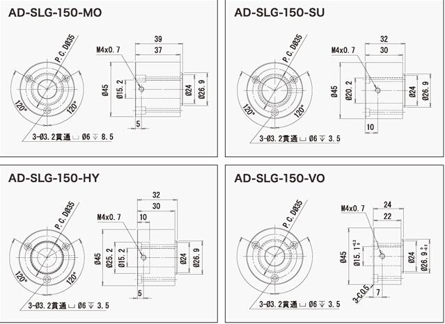 莱宝克斯 REVOX LED光纤接头Ø15×L37 MO Ø15×L37 MO