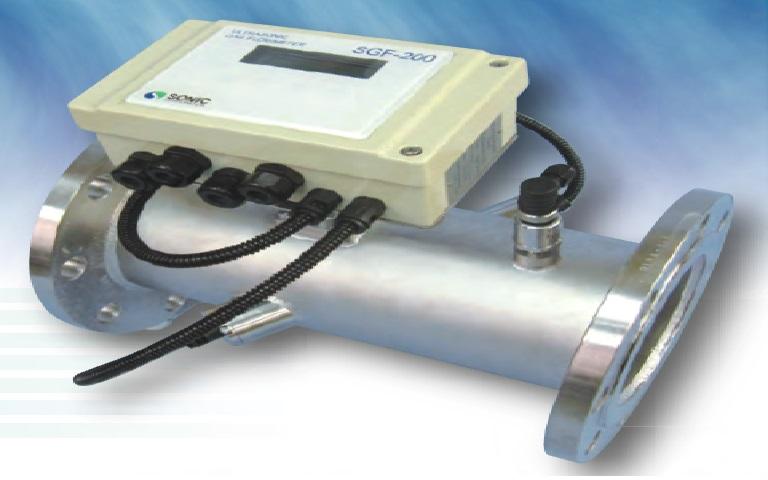 SONY克 SONIC  超声波气体流量计SGF-200 SGF-200 SONIC SGF 200 SGF 200