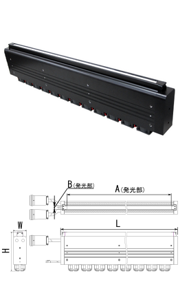 艾泰克 AITEC 高亮度线性光源 LLRG550Fx22-150R AITEC LLRG550Fx22 150R