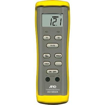 艾安得 AND AD-5602A K类型热电对温度计 AND AD 5602A K