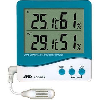 艾安得 AND AD-5648A 带有外部传感器的温湿度计 AND AD 5648A