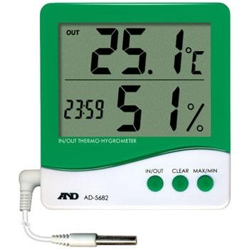 艾安得 AND AD-5682 带有外部传感器的温湿度计 AND AD 5682
