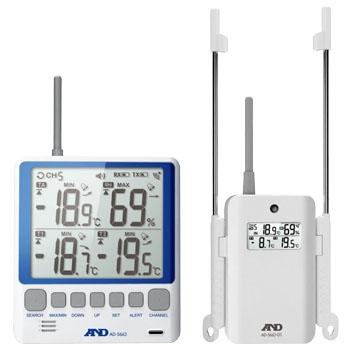 艾安得 AND AD5663 无线多频道温湿度计 AND AD5663
