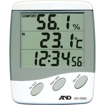 艾安得 AND AD-5680 带有外部传感器的温湿度计