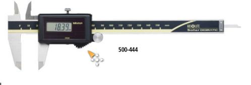 三丰金莎贸易代理,Mitutoyo 太阳能数显卡尺500-453 500-453