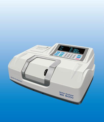 电色广州金莎代理 NDK 浊度计和色度仪(用于供水和污水)WA6000 WA6000 NDK WA6000 WA6000