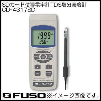 富装金莎代理 FUSO盐分浓度计 CD-4317SD FUSO CD 4317SD