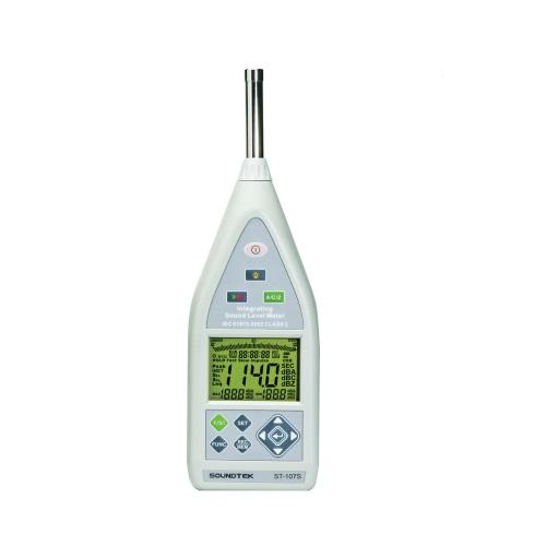 富装金莎代理 FUSO数据记录器微型带SD卡噪音计 ST-107S FUSO SD ST 107S