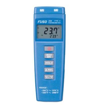 富装金莎代理 FUSO数字温度计 FUSO-308 FUSO FUSO 308