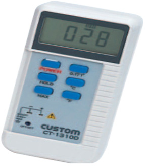 东洋金莎代理 CUSTOM 数字温度计CT-1310D CUSTOM CT 1310D