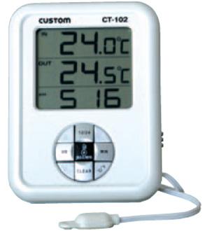 东洋金莎代理 CUSTOM 数字温度计CT-102 CUSTOM CT 102