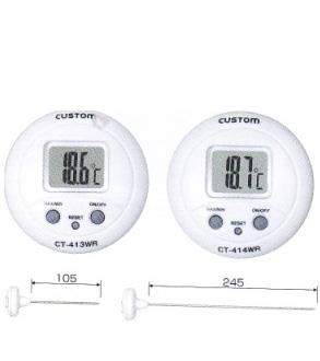 东洋金莎代理 CUSTOM 数字温度计CT-414WR CUSTOM CT 414WR