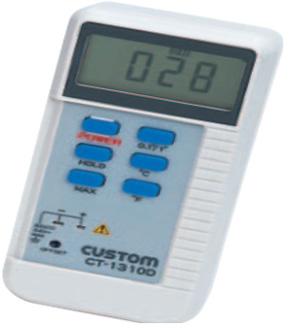 东洋金莎代理 CUSTOM 数字温度计CT-1320D CUSTOM CT 1320D