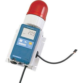 亚速旺 ASONE OM-25MF01-PRB 缺氧警报单元 ASONE OM 25MF01 PRB