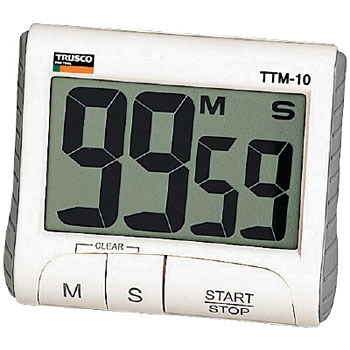 TRUSCO TTM-10 数字计时器(大型液晶显示类型) TRUSCO TTM 10