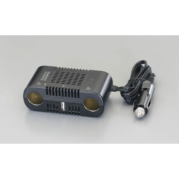 ESCO EA812JK-1A DC 24V→DC 12V10A(USB 2.1A)转换器 ESCO EA812JK 1A DC 24V DC 12V10A USB 2 1A