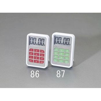 ESCO EA798C-86 25x8x12.5毫米定时器(数字·红色) ESCO EA798C 86 25x8x12 5 middot
