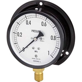 长野计器 NKS AE20-241 3.5MPa 普通型压力计(B框立形)Φ100 NKS AE20 241 3 5MPa B 100