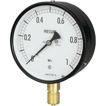 长野计器 NKS AE10-141-0.4MP 普通型压力计(A框立形)100Φ NKS AE10 141 0 4MP A 100