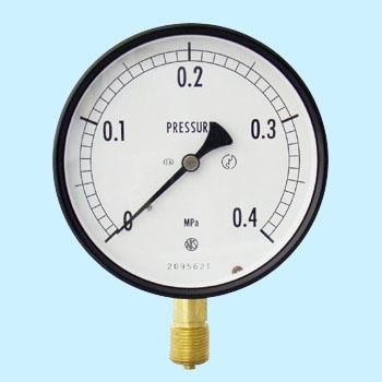 长野计器 NKS AE10-131-0.4MPa 普通型压力计(A框架立形G 38)100Φ NKS AE10 131 0 4MPa A G 38 100