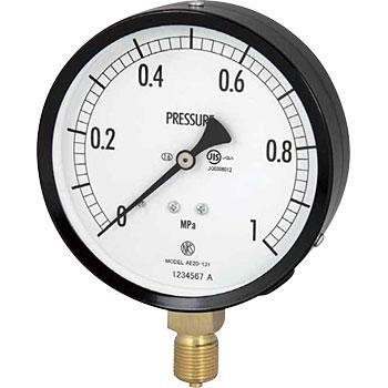 长野计器 NKS AE20-131 0.5MPa 普通型压力计(A框架立形G 38)100Φ NKS AE20 131 0 5MPa A G 38 100