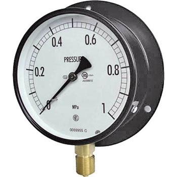 长野计器 NKS AE10-231-6.0MP 普通型压力计(B框立形)100Φ NKS AE10 231 6 0MP B 100