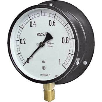 长野计器 NKS AE10-231-1.6MP 普通型压力计(B框立形)100Φ NKS AE10 231 1 6MP B 100